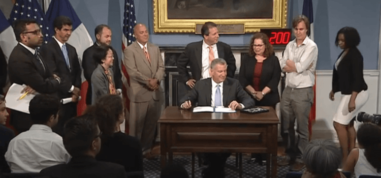 Mayor Signs School Diversity Accountability Act